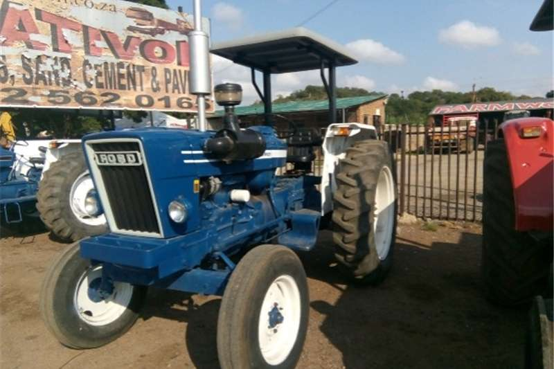 Two wheel drive tractors S2827 Blue Ford 6600 54kW/73Hp 2x4 Pre Owned Tract Tractors