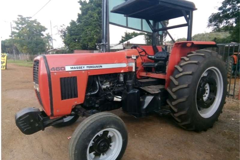 Two wheel drive tractors S2917 Red Massey Ferguson (MF) 460 78kW/105Hp 2x4 Tractors
