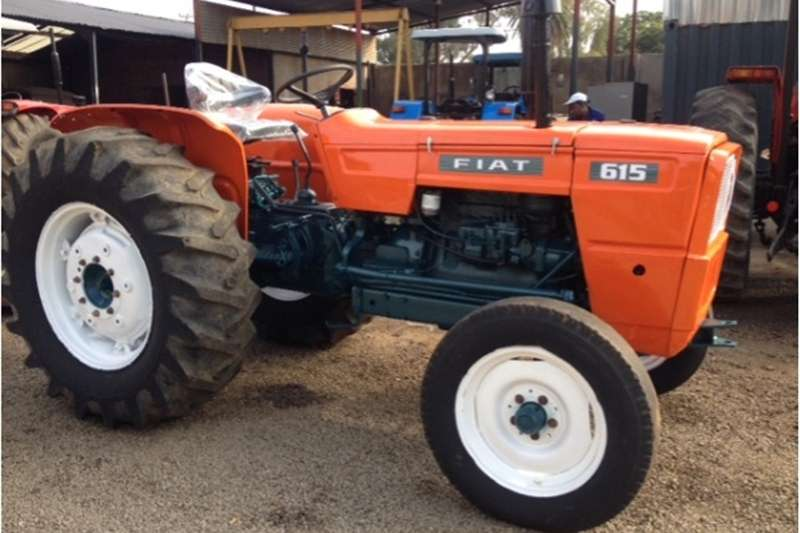 Two wheel drive tractors S2937 Orange Fiat 615 49kW/66Hp Pre Owned Tractor Tractors