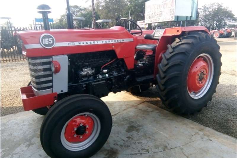 Two wheel drive tractors S3049 Red Massey Ferguson (MF) 165 45kW 2x4 Pre Ow Tractors