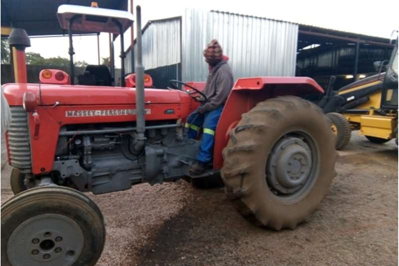Tractors Two Wheel Drive Tractors S3088 Red Massey Ferguson (MF) 65 38kW Pre-Owned T