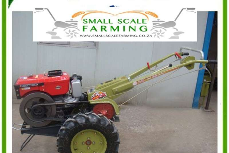Two wheel drive tractors TM1515B Crank Start Two Wheel Walk Behind Tractor Tractors