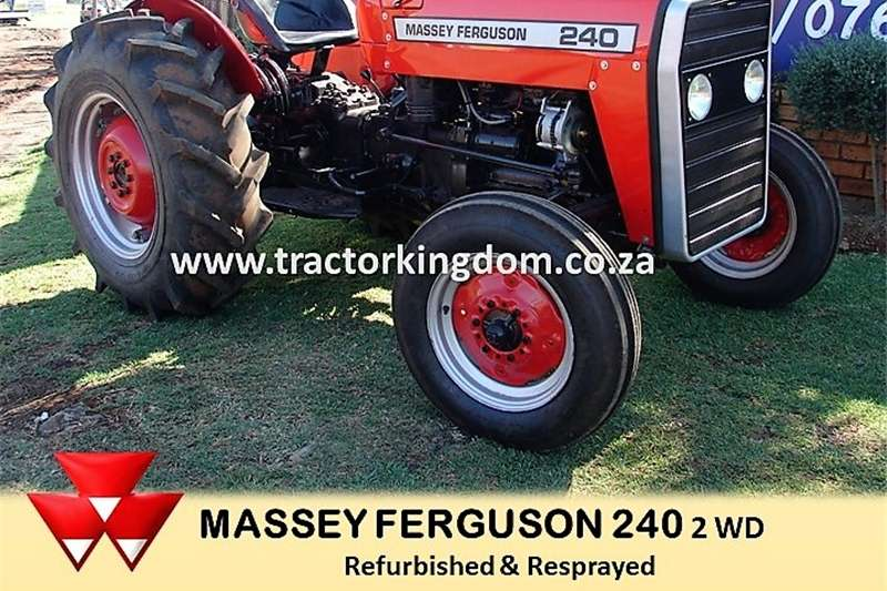 Two wheel drive tractors Used Massey Ferguson 240 Tractor Tractors