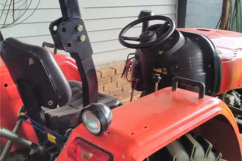Utility tractors Indo track tractor with backhoe Tractors