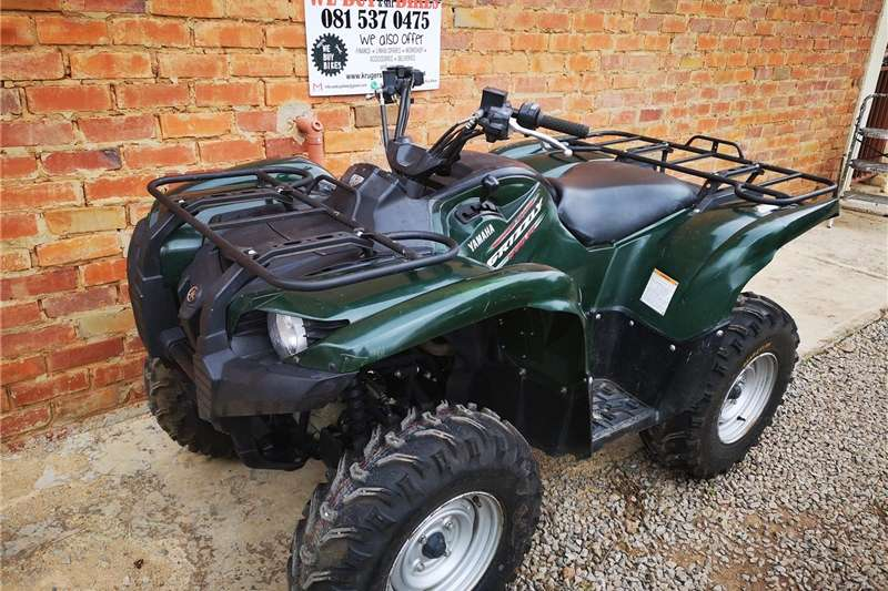 Tractors Utility Tractors Yamaha Grizzly 550 4x4