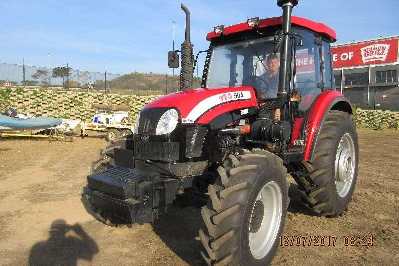 YTO Four wheel drive tractors YTO 904 .4WD . 67KW CAB Tractors