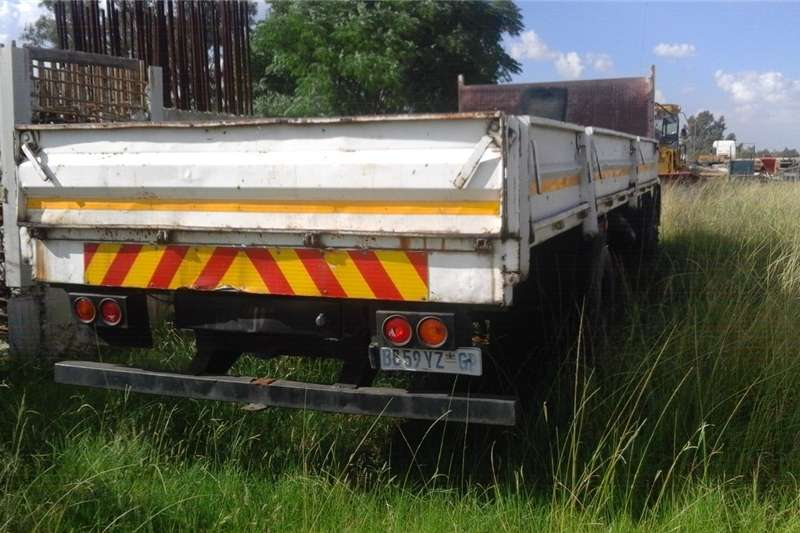 Double axle Ford truck body with dropsides 7,5meter Trucks