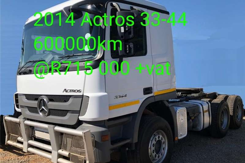 Double axle Mercedes benz Actros 33   44 Trucks