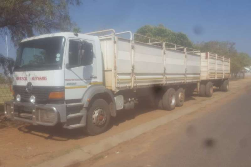 International Atego 2528 met wa Trucks