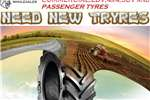Tyres New Tyre's For Sale - Myburgh Bande - Wholesalers