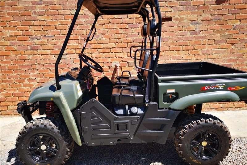 Four wheel drive Linhai Rustler XL400 4X4 Utility vehicle