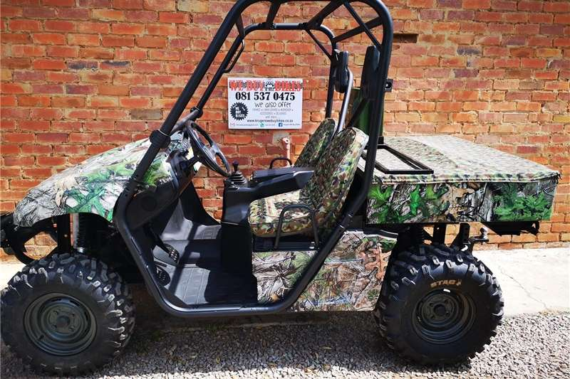 Utility Vehicle Four Wheel Drive Yamaha Rhino 660cc 4x4 UTV