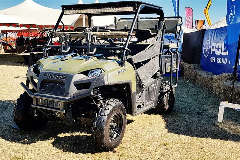 Rugged & Comfortable Polaris Ranger 570 EFI Side b Utility vehicle