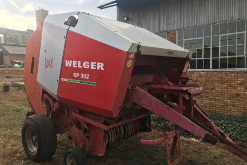 Welger Balers Welger RP 302 Baler Hay and forage