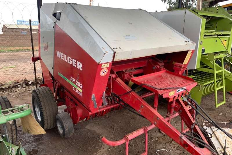 Welger Hay and Forage Balers Welger RP202 Classic baler