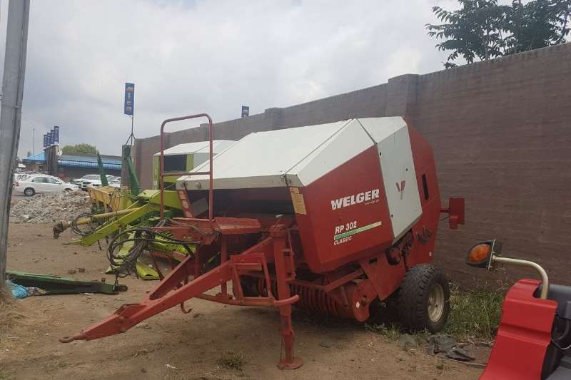 Welger Hay and Forage Balers Welger RP302