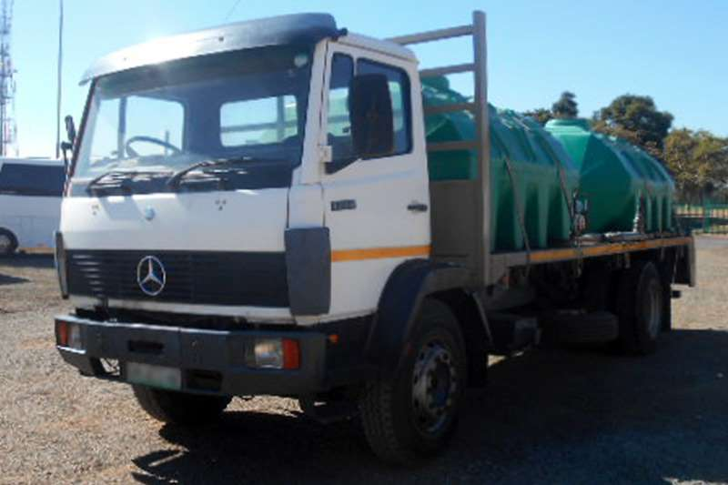 Mercedes Benz 1214 Econoliner Fitted with Flatdeck Body with Wat