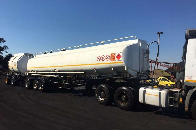 Used Semi and Pup Fuel Tanker Available