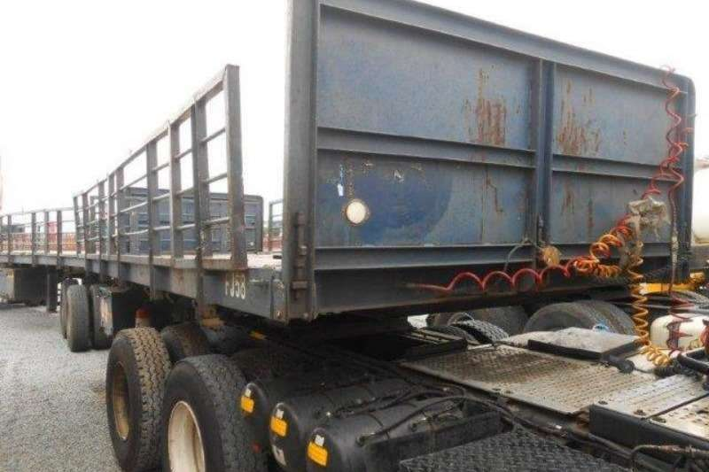Other Railside Superlink Flat Deck Trailer With Twist Lo