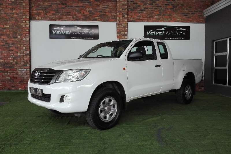 toyota hilux extra cab in cars in south africa junk mail. Black Bedroom Furniture Sets. Home Design Ideas