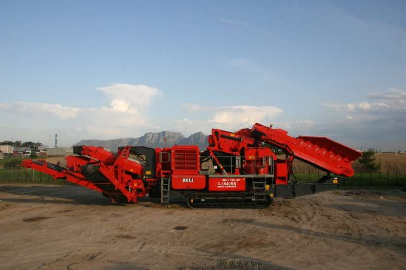 ADE FINLAY C1540RS MOBILE CONE CRUSHER Crushers