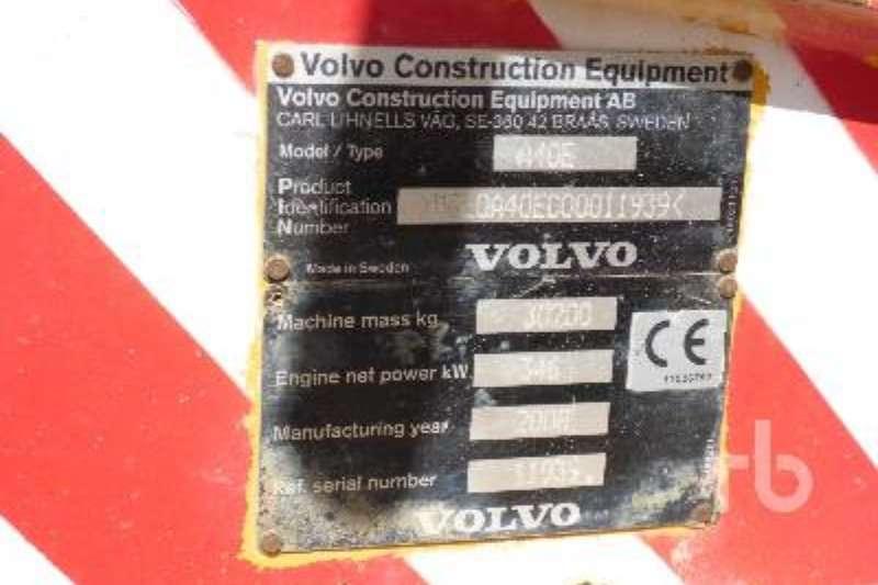 Volvo A40E ADTs