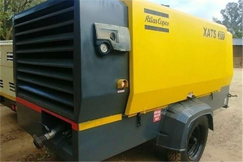 Atlas Copco 770cfm / 10 Bar Mobile Diesel Compressor Others