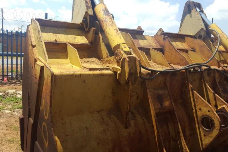 USED FRONT END LOADER BUCKET GRAB Attachments