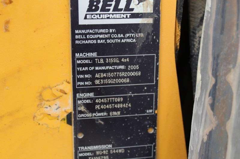 Bell Bell Backhoe Loader Backhoe loader