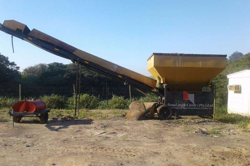 Sany Karoo Batch Plant with load cells and scales Batching Plant - Mobile