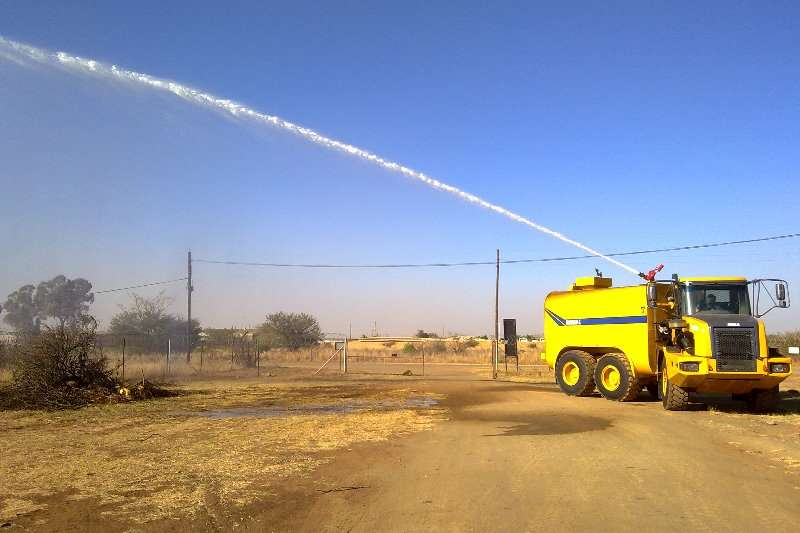 Bell Water Tankers Remote operated water cannons 2018