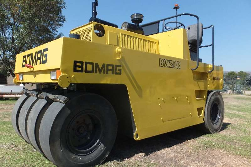 Bomag Rollers BW20R PTR