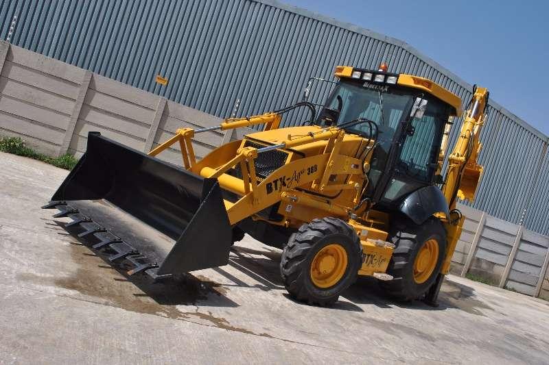 BTX-AGRI (388) Backhoe loader