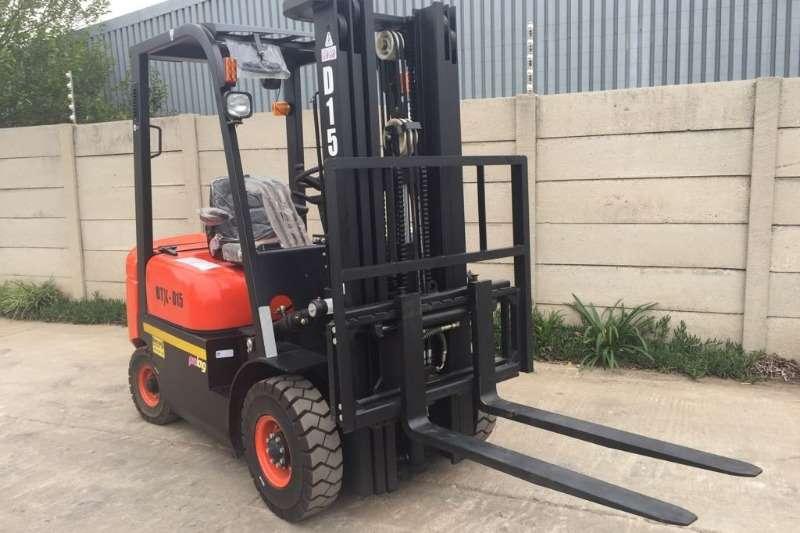 Forklifts BTX D15 (3 stage,4.5m)