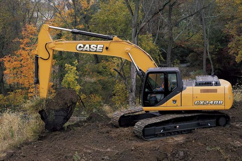 Case New,CX240B Excavators