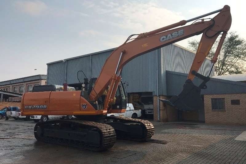 Case Excavators Used, CX290B 2009