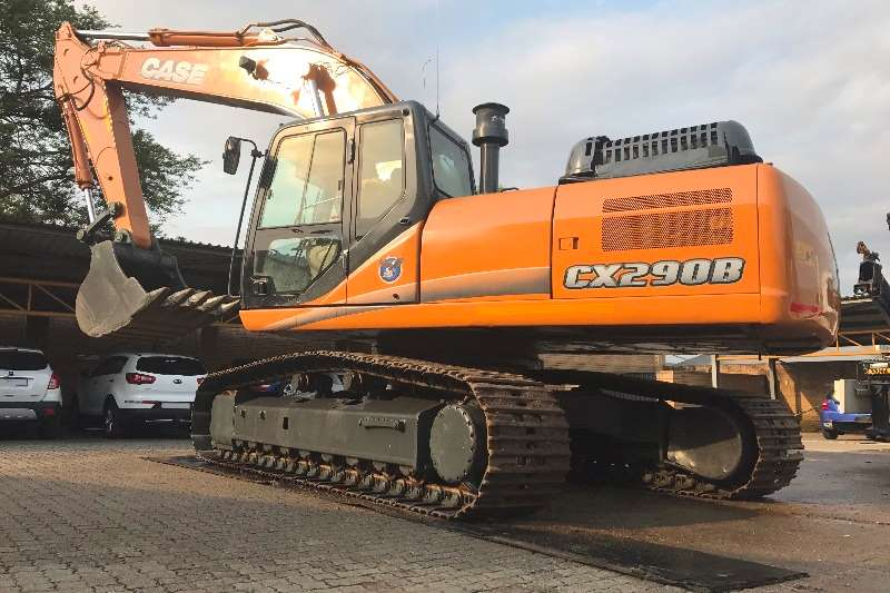 Case Used, CX290B Excavators