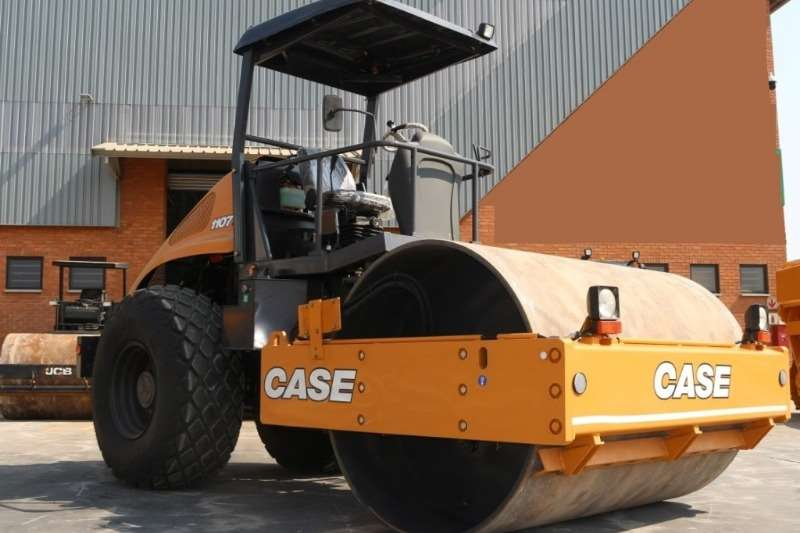 Case 1107EX 10 Ton Smooth Drum Roller Rollers
