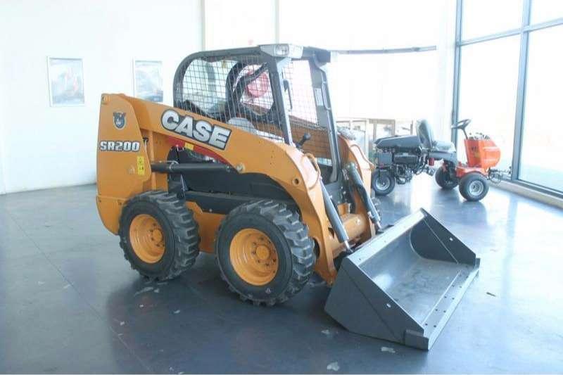 Case New, SR 200 Skidsteer loader