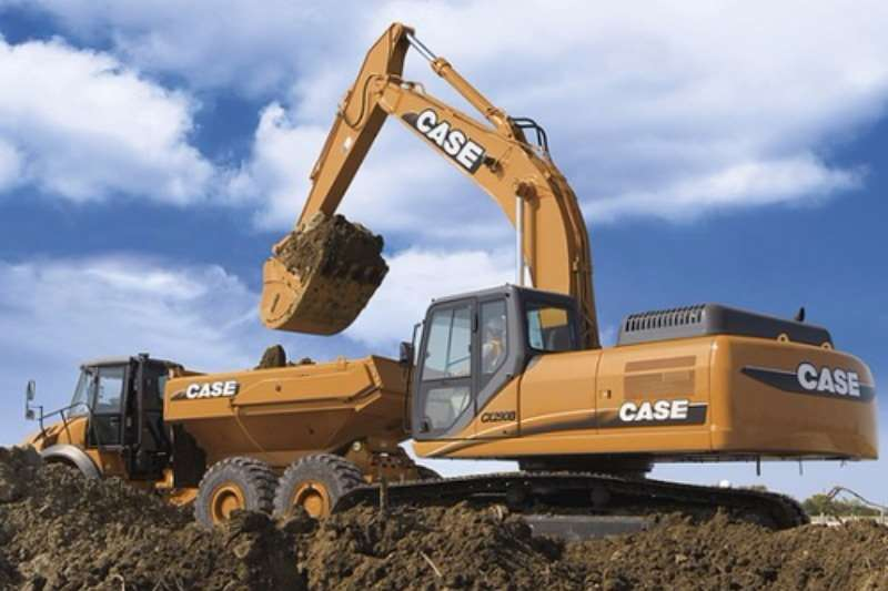 Excavators Case New,