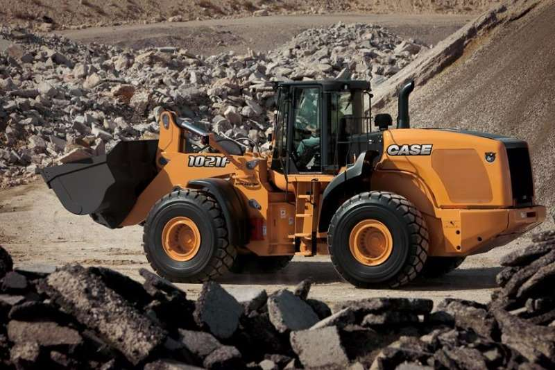 Loaders Case New, Front End Loader 1021 F