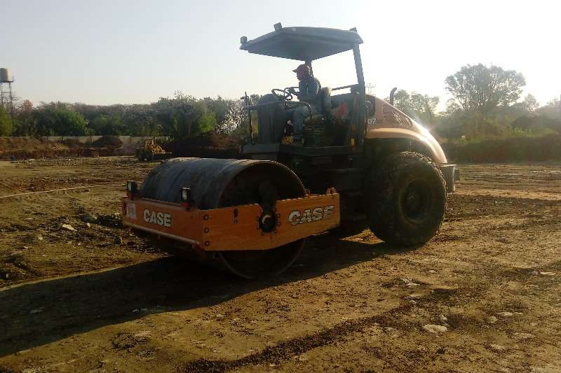 Rollers Case Vibratory Soil Compactor