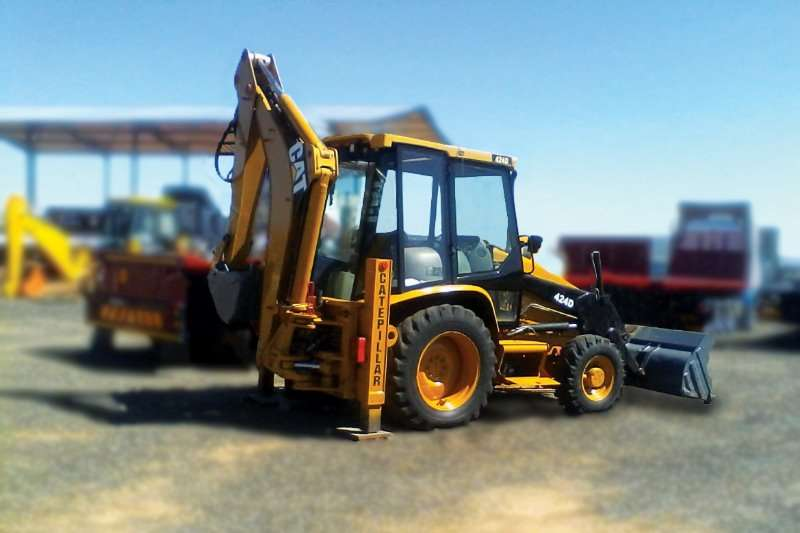 CAT TLBs Construction CATERPILLAR 424D 4X4 TLB 2006