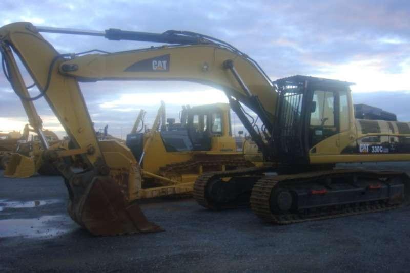 Excavators Caterpillar 330 C
