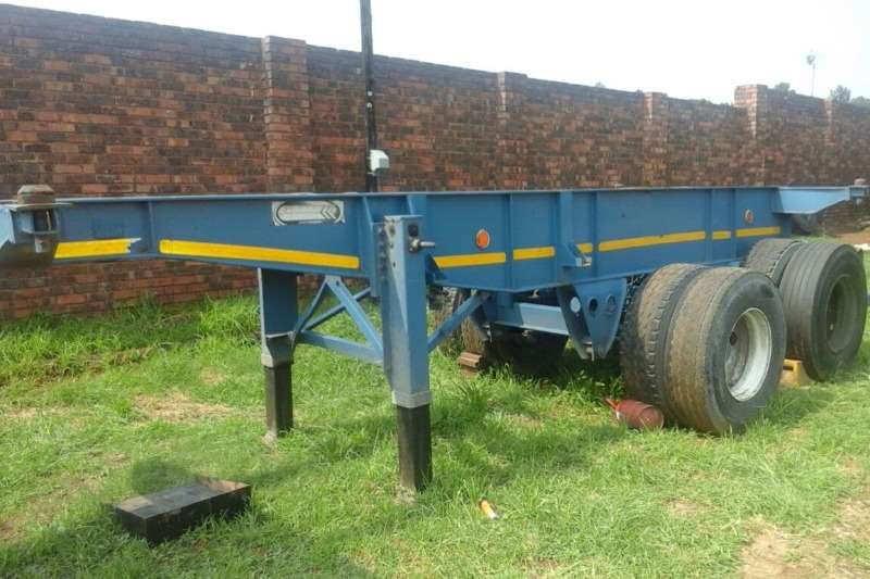 Cranes Other 6 METER SKELETAL TRAILER FOR SALE 0