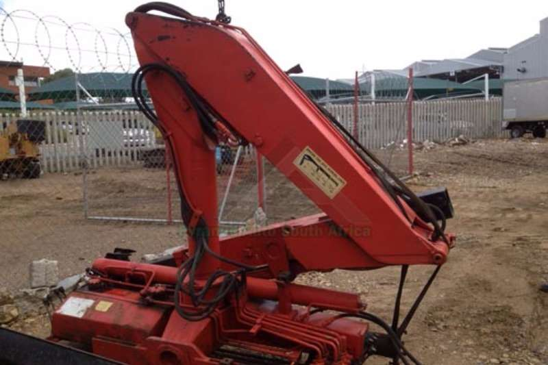 Cranes Other Truck mounted Spartan 750A 0