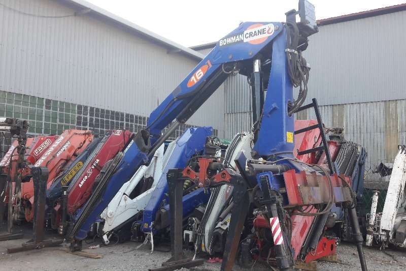 Cranes Other Used Bowman 16 Ton Crane with Brick Grab Available 2007