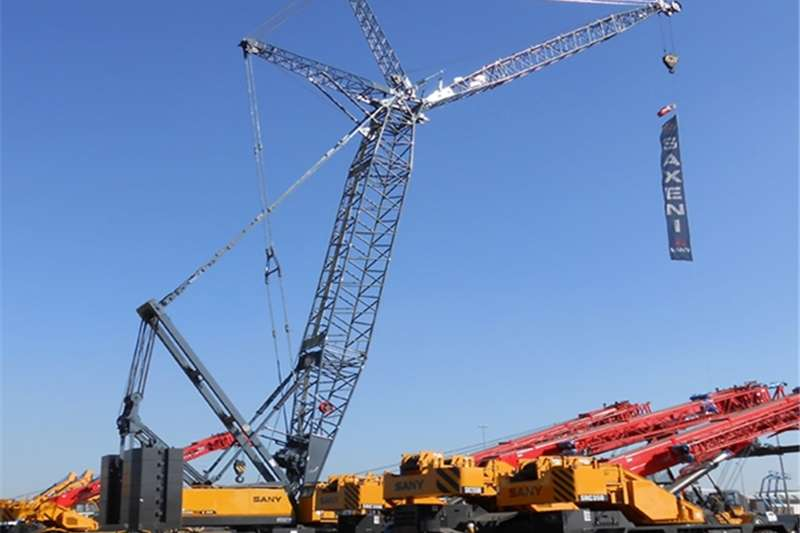 Cranes Sany NEW CRAWLER