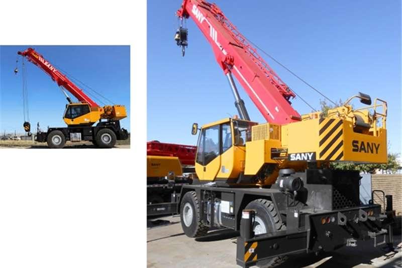 Sany Rough terrain New SRC350 Cranes
