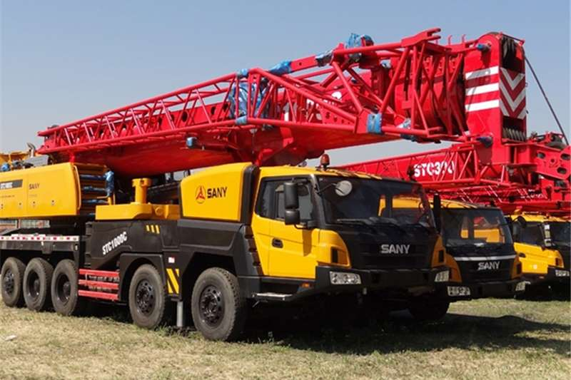 Sany Truck mounted New STC1000C Cranes